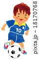 サッカー 18170768