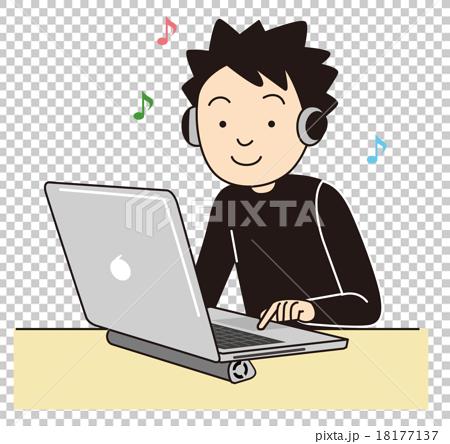 Laptop male 18177137