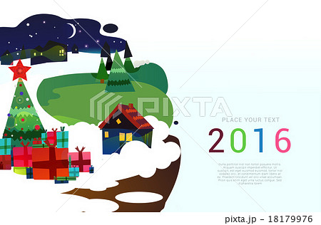 Christmas vector background. 18179976