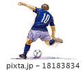 サッカー フットボール 18183834