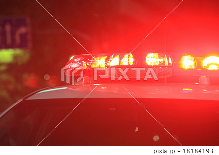 緊急車両・パトライトのイメージ写真 18184193