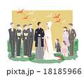 和装ウェディング(文字なし) 18185966