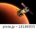 宇宙 火星 衛星のイラスト 18186935