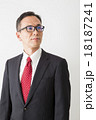 男性 ビジネスマン サラリーマンの写真 18187241