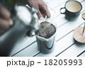 飲み物 ホット コーヒーの写真 18205993