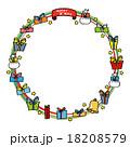 クリスマスのフレーム 18208579