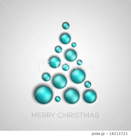 Simple Christmas tree のイラスト素材 [18213721] - PIXTA