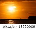 南国の夕日 18220089