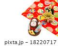 猿 申年 年賀状素材の写真 18220717