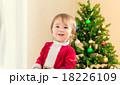 サンタクロース コスチューム 子供の写真 18226109