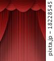 ステージカーテン カーテン 垂れ幕のイラスト 18228545