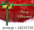 クリスマス背景素材 18233730