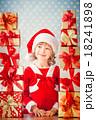 クリスマス 子 子供の写真 18241898