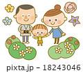 家族花畑カメラ 18243046