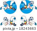 鴎のマスコットキャラクター 18243663