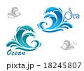 海 ウォーター 水のイラスト 18245807