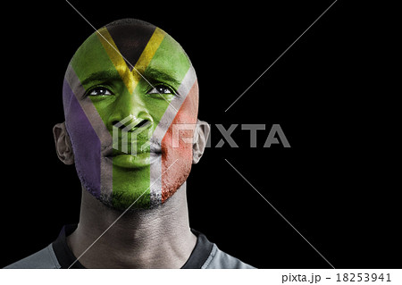 Composite image of south africa rugby playerの写真素材 [18253941] - PIXTA