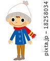 ニット帽 冬の服こども 18258034