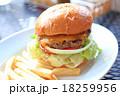おいしいチーズバーガー 18259956