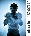 american football player silhouette 18260339