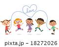 縄跳びをする子供達 18272026