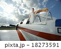 girl in a small plane 18273591