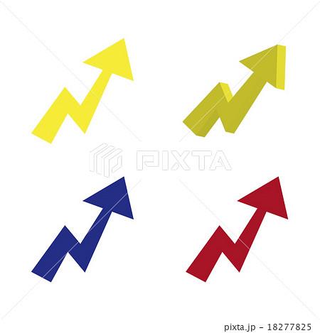 矢印のイラスト素材 18277825 Pixta