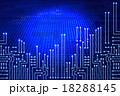 サーキット 回路 バイナリーコードのイラスト 18288145