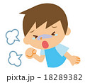 咳き込む 子供 18289382