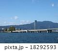 琵琶湖から見た大津市 18292593