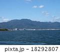 比叡山と琵琶湖 18292807