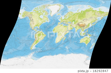 世界全図のイラスト素材 [18292847] - PIXTA