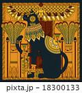 アート 黒猫 ねこのイラスト 18300133