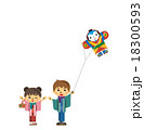 お正月の子供たち【三頭身・シリーズ】 18300593