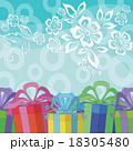 Holiday Background with Gift Boxes 18305480