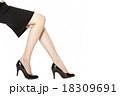 脚 女性 ビジネスウーマンの写真 18309691