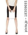 脚 女性 ビジネスウーマンの写真 18309693