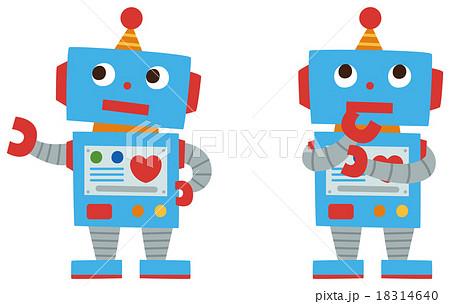 ロボットのイラスト素材 18314640 Pixta