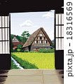白川郷 18316569