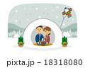 正月とかまくら【三頭身・シリーズ】 18318080