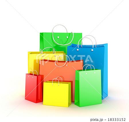 Shopping bags 18333152