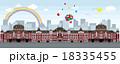 東京駅イメージイラスト 18335455