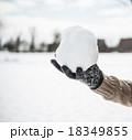 雪遊び 18349855