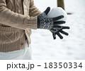 雪遊び 18350334