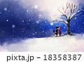 ウィンター 冬 若いのイラスト 18358387