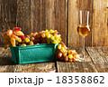 Fresh grapes and grappa 18358862