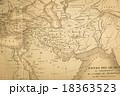 アンティークの世界地図 中東地域 18363523