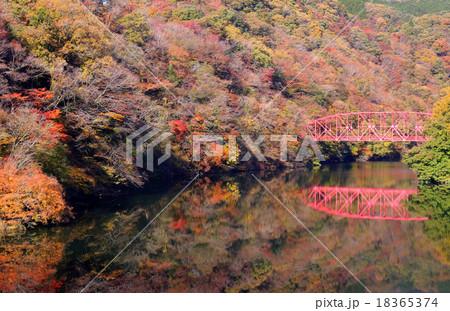 帝釈峡の紅葉 18365374