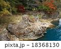 厳美渓 紅葉 風景の写真 18368130