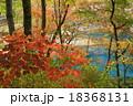 厳美渓 紅葉 風景の写真 18368131